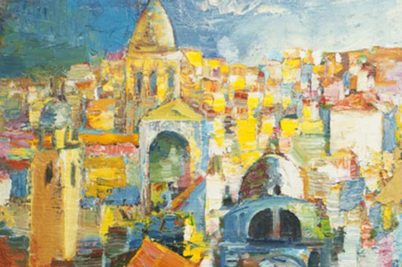 Dubrovnik Art Plakat