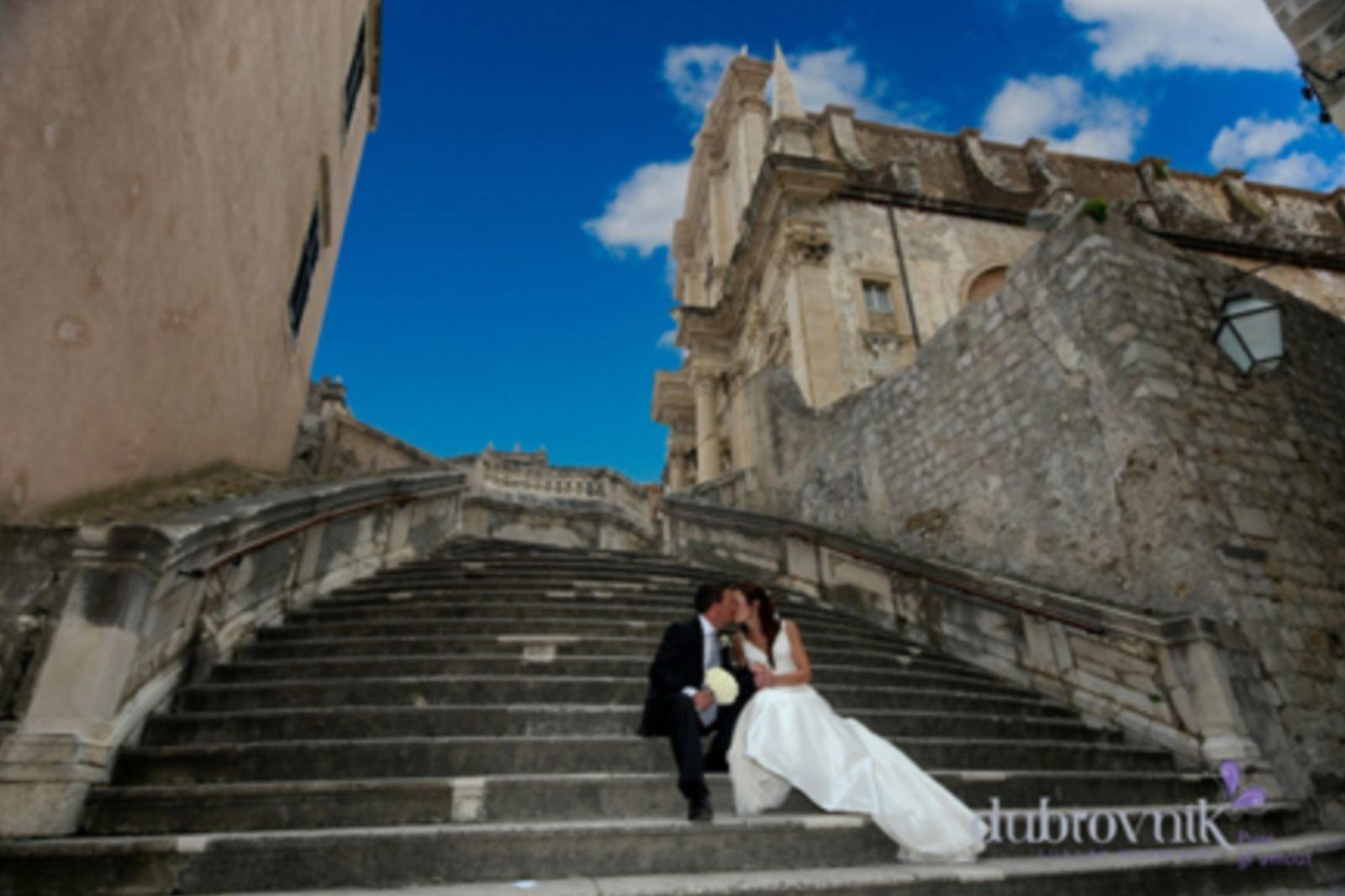 Luxury dubrovnik wedding