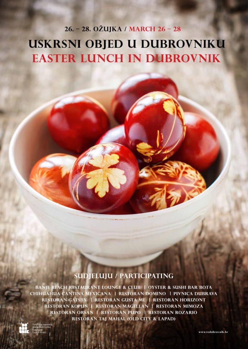 Uskrsni objed u Dubrovniku