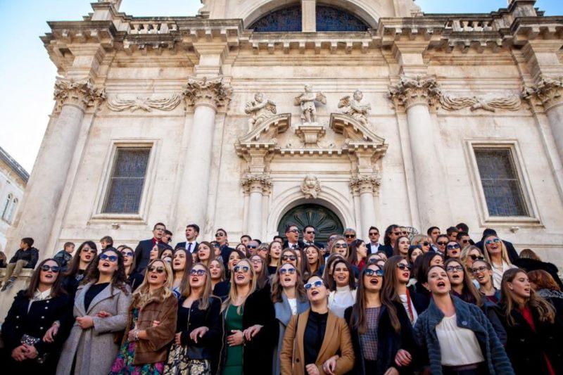 Tradicionalna kolenda uz FA Linđo, Zbor Libertas i Gradsku glazbu Dubrovnik