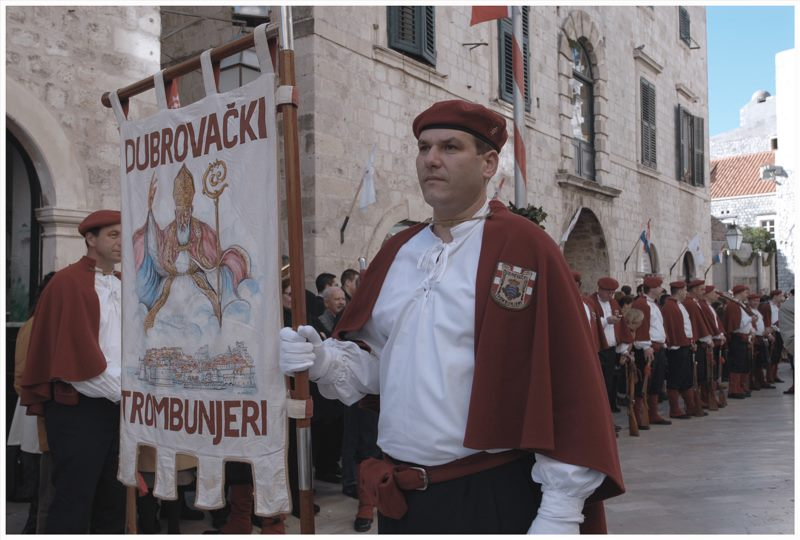Budnica uz Trombunjere i Gradsku glazbu Dubrovnik