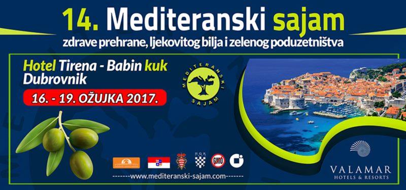 14. Mediteranski sajam zdrave prehrane, ljekovitog bilja i zelenog poduzetništva