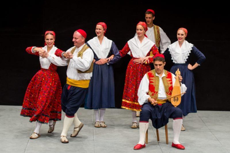 Božićni koncert - Folklorni ansambl Linđo