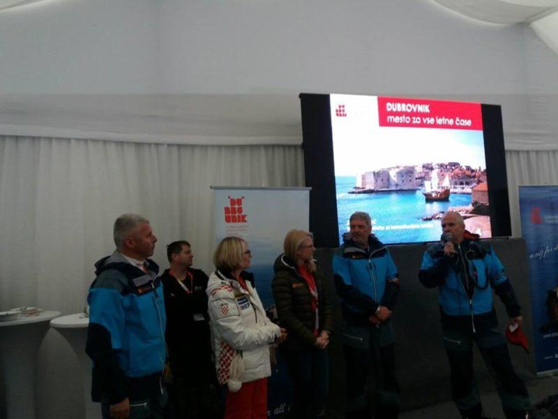 Predstavljanje Dubrovnika u slovenskoj Kranjskoj gori na skijaškom spektaklu Pokal Vitranc