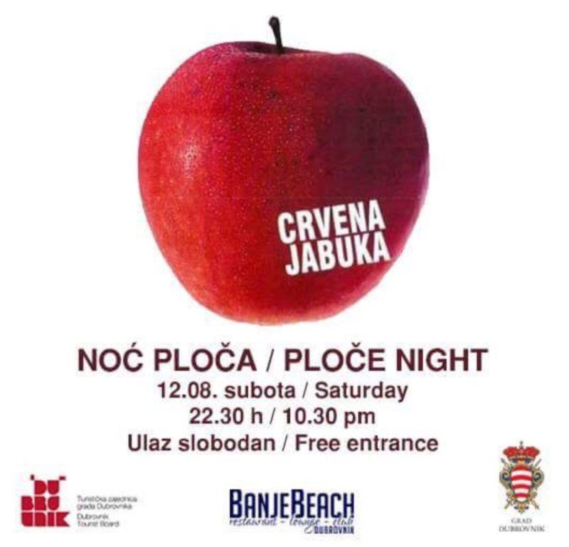 Noć Ploča - Crvena jabuka