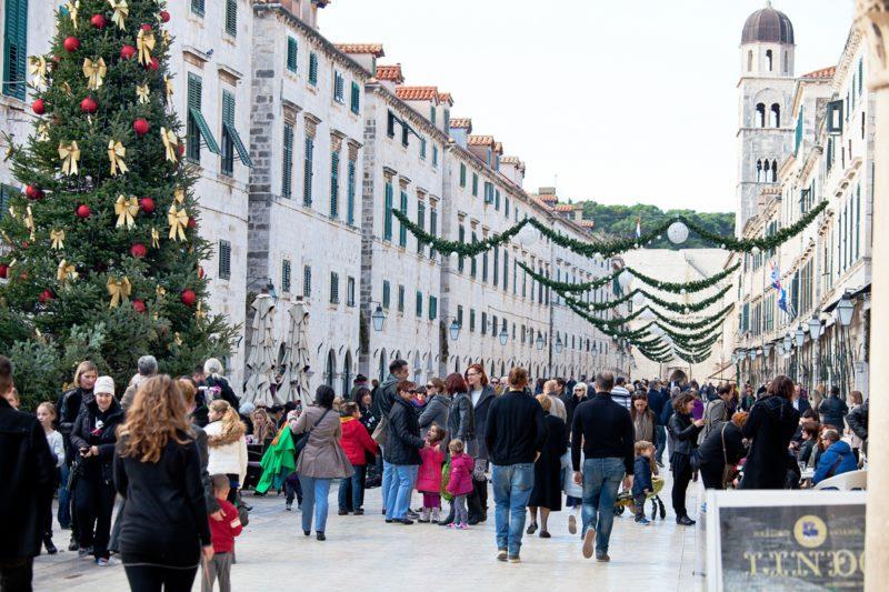 Čarobna zima u Dubrovniku