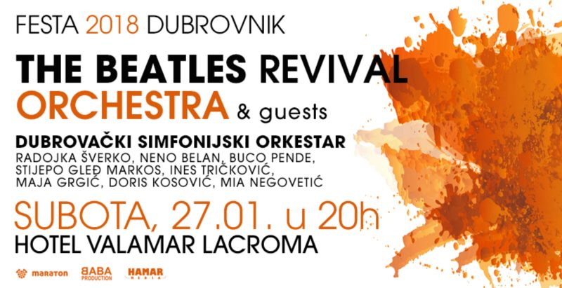 Festa Dubrovnik - The Beatles Revival Orchestra