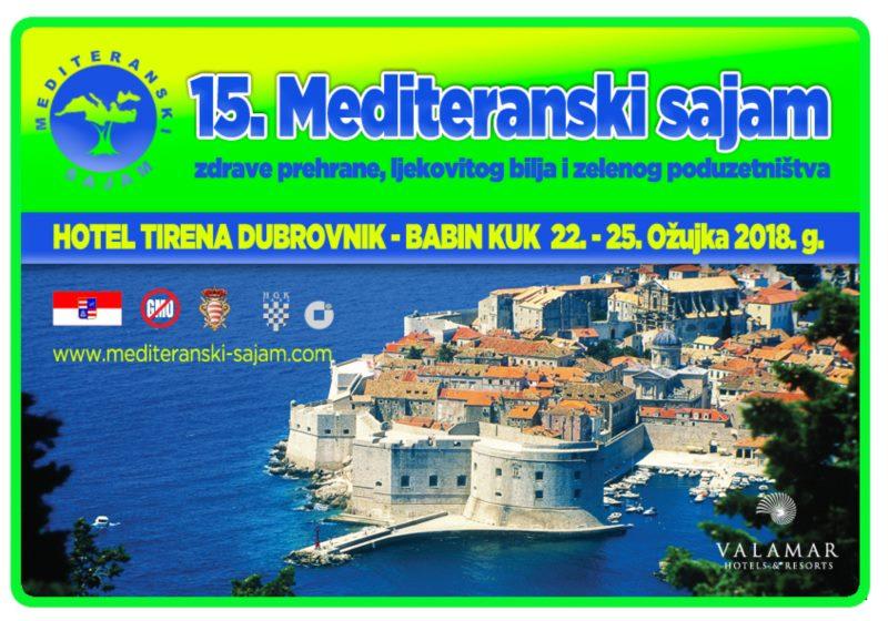 15. Mediteranski sajam zdrave hrane, ljekovitog bilja i zelenog poduzetništva