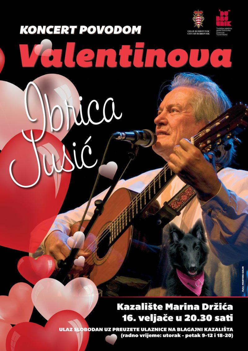 Koncert povodom Valentinova - Ibrica Jusić