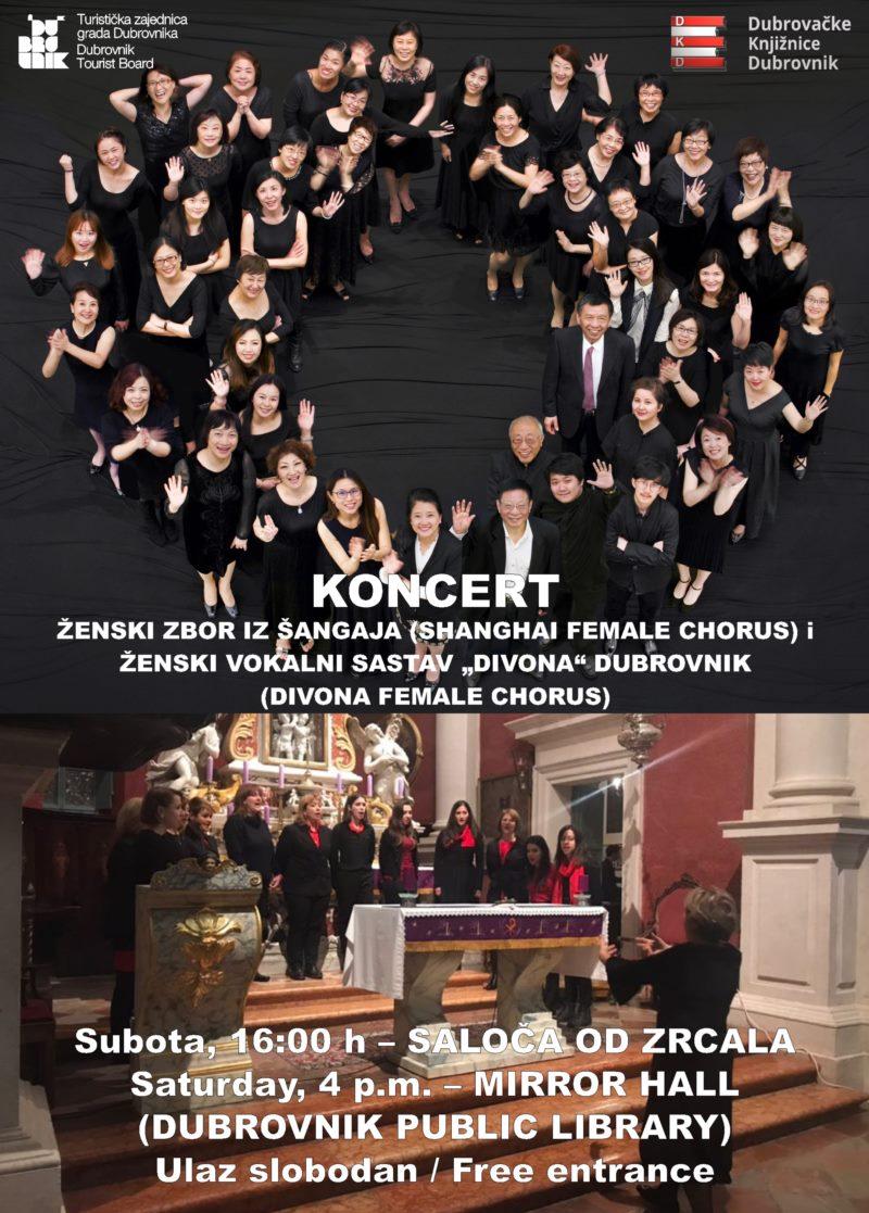 Koncert - Shangai Female Chorus i ženski vokalni sastav