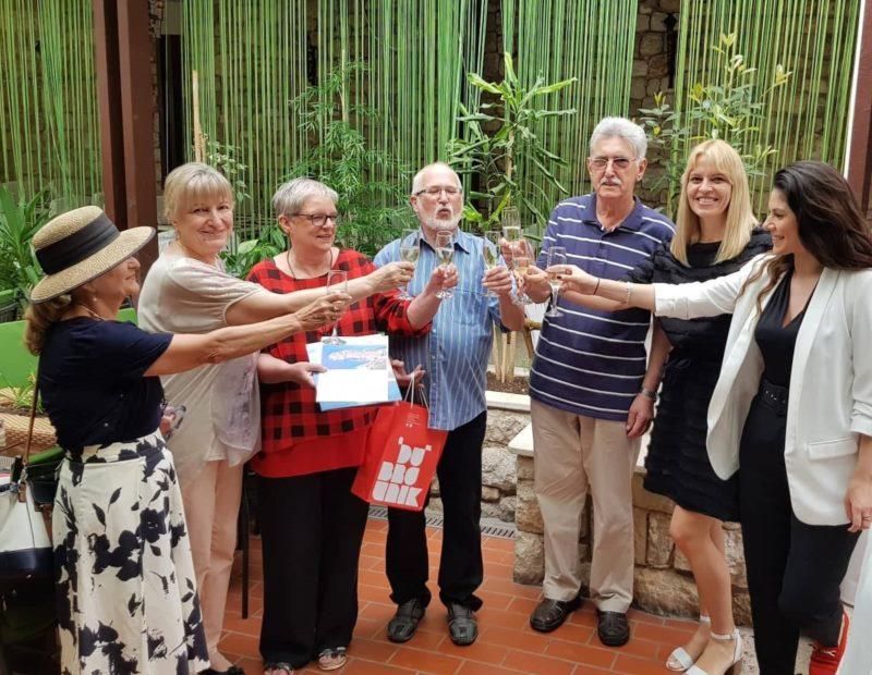 Dodjela zahvalnica dugogodišnjim gostima Dubrovnika