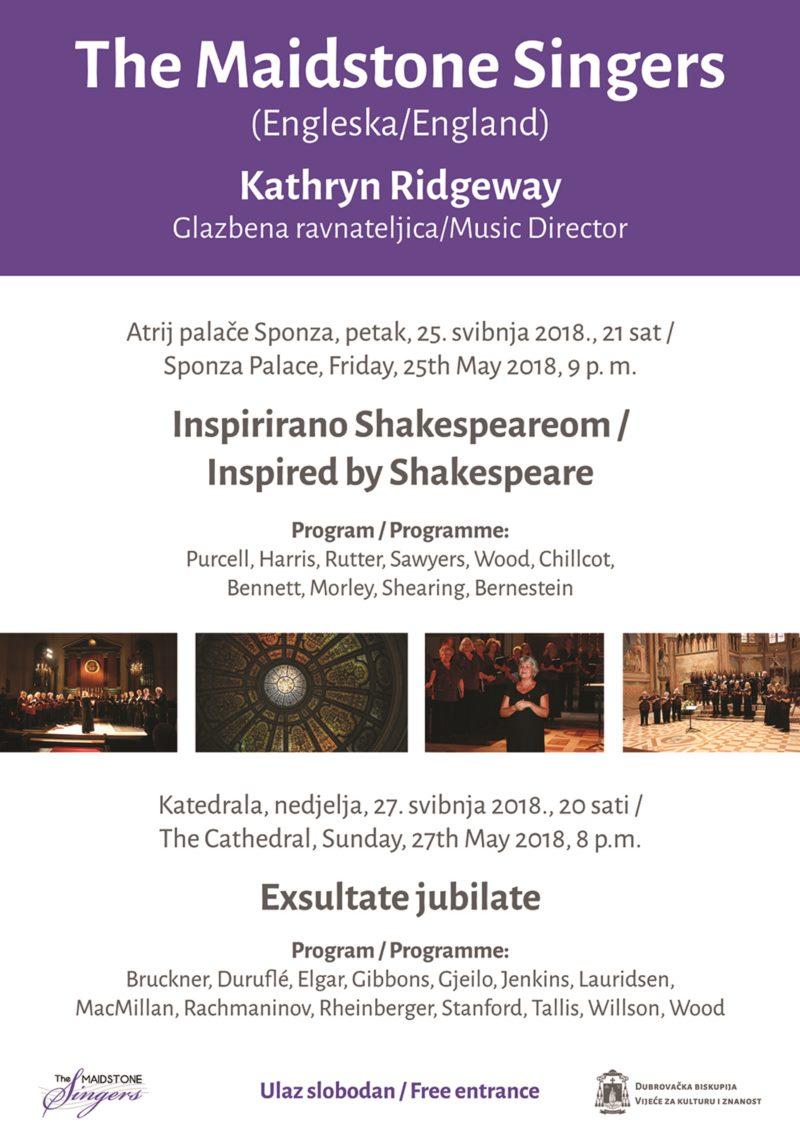 Koncert - The Maidstone Singers