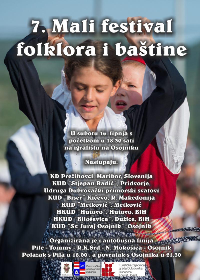 7. Mali festival folklora i baštine