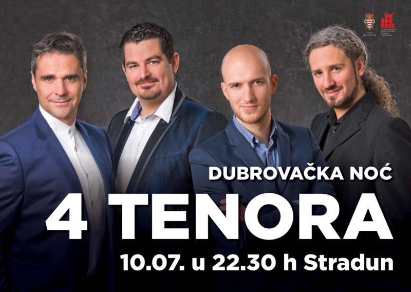 Dubrovačka noć - 4 tenora