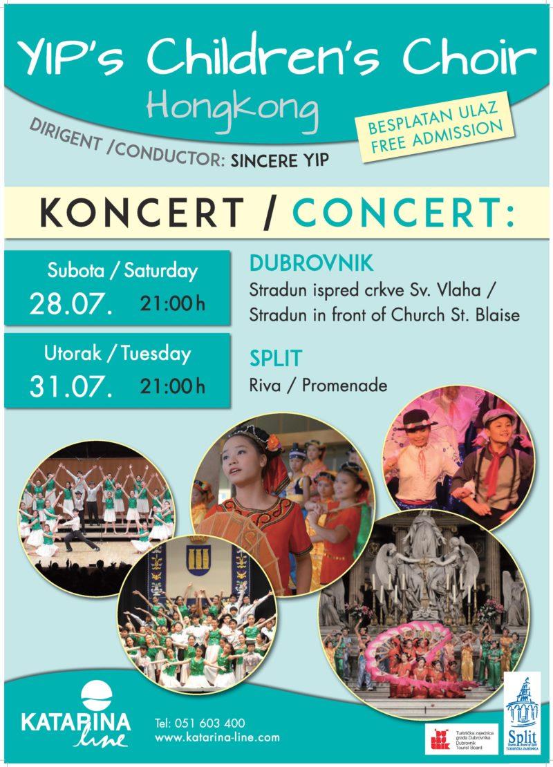 Koncert - Yip Children's Choir (Hong Kong)