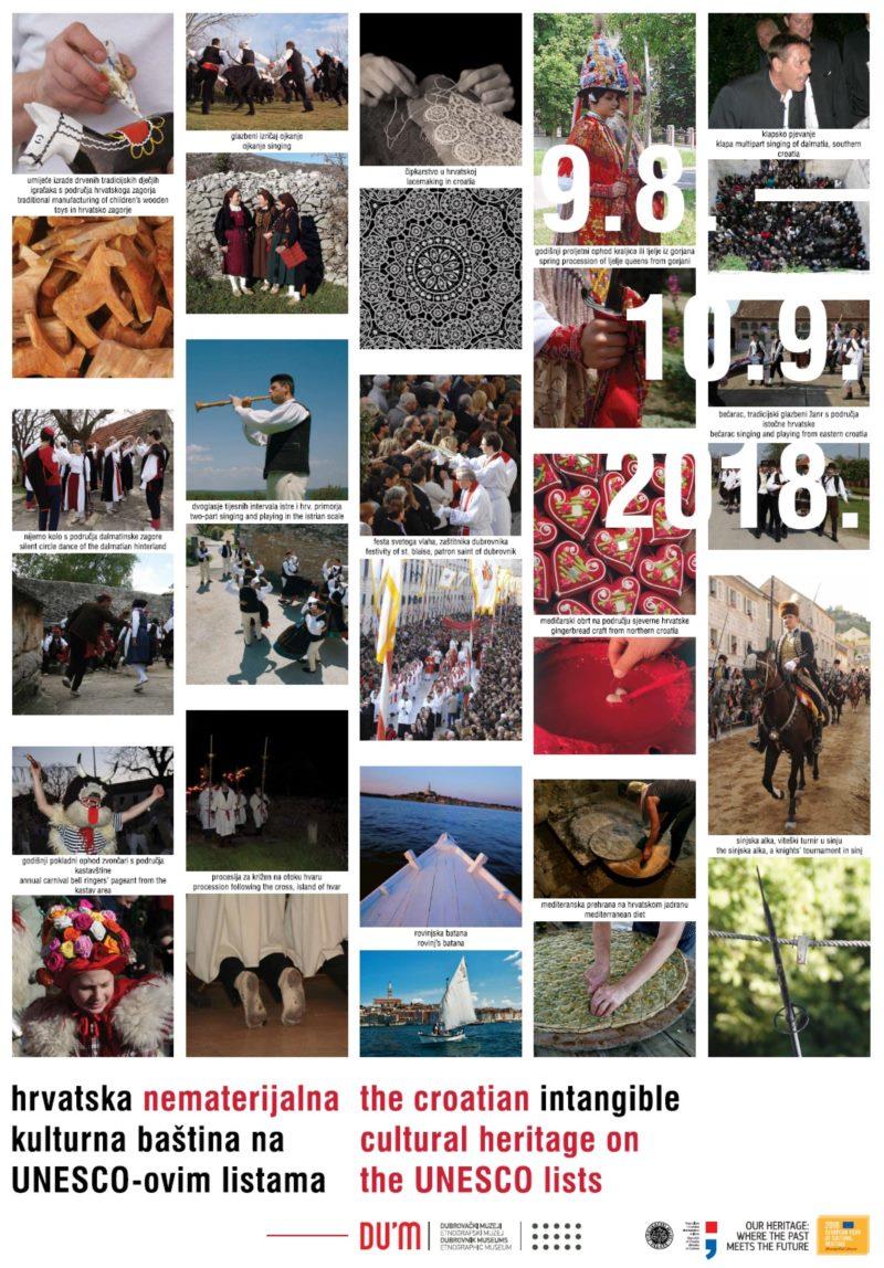 """Otvorenje izložbe """"Hrvatska nematerijalna kulturna baština na UNESCO-ovim listama"""""""