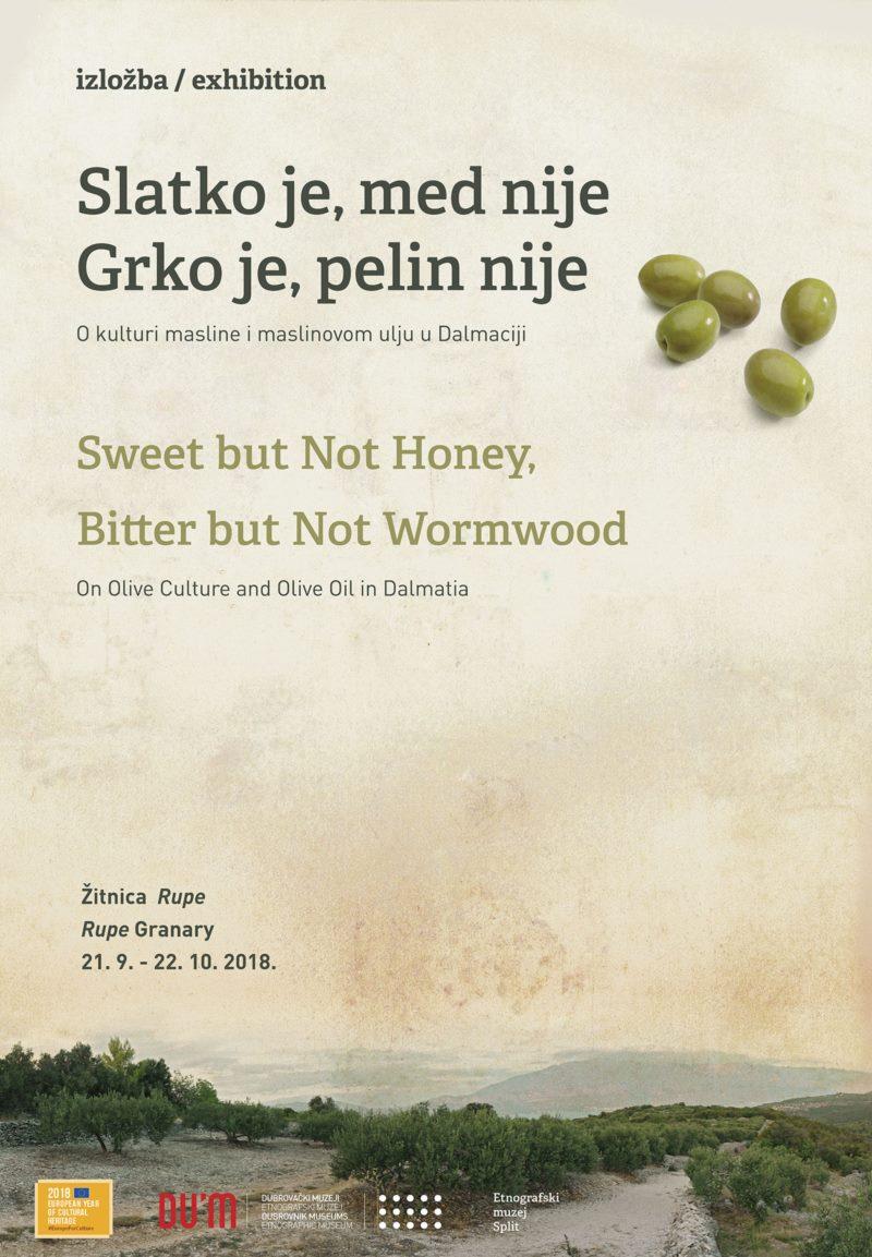 Izložba - Slatko je, med nije; grko je, pelin nije