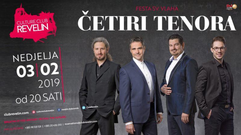 Koncert -  4 tenora