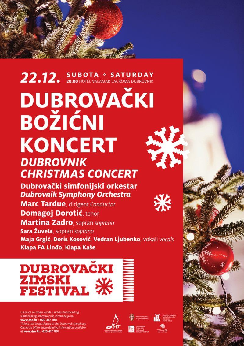 Božićni koncert - Dubrovački simfonijski orkestar