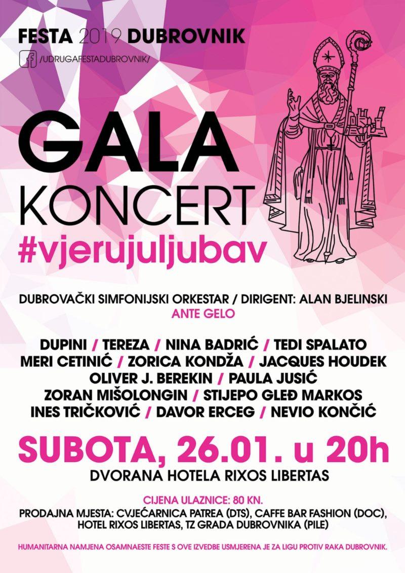 FESTA 2019 DUBROVNIK - središnji revijalni gala koncert