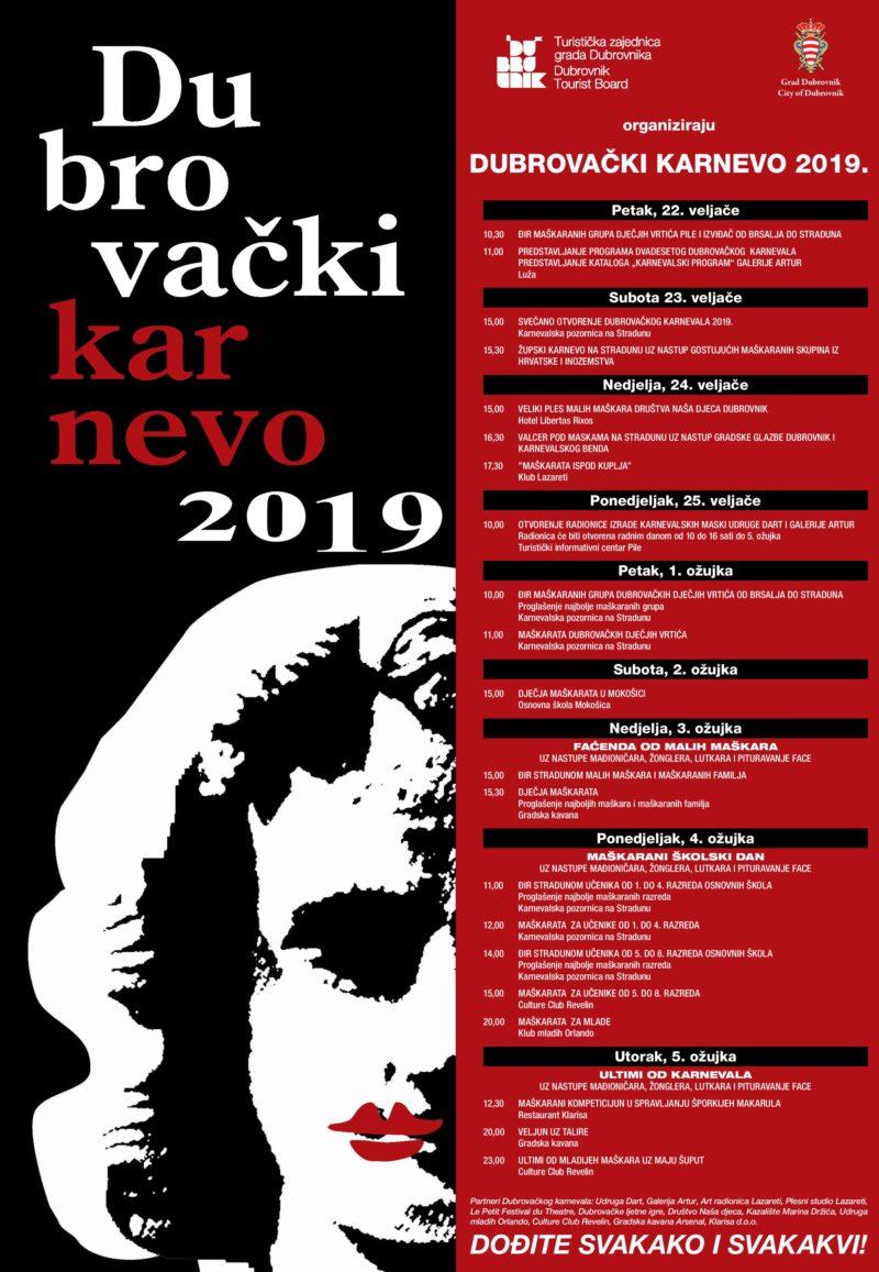 Predstavljanje programa dvadesetog dubrovačkog karnevala