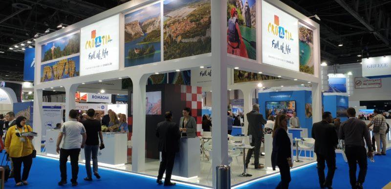 Nastup Turističke zajednice grada Dubrovnika i TZ Dubrovačko-neretvanske županije na sajmu ATM u Dubaiu