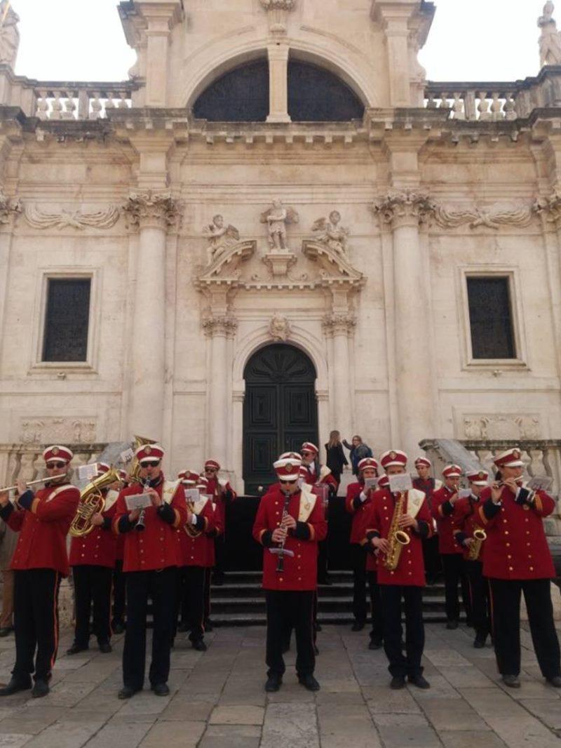 Koncert Gradske glazbe Dubrovnik