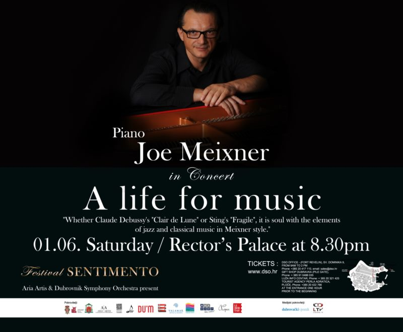 SENTIMENTO 2019 - Koncert Joe Meixner - klavir
