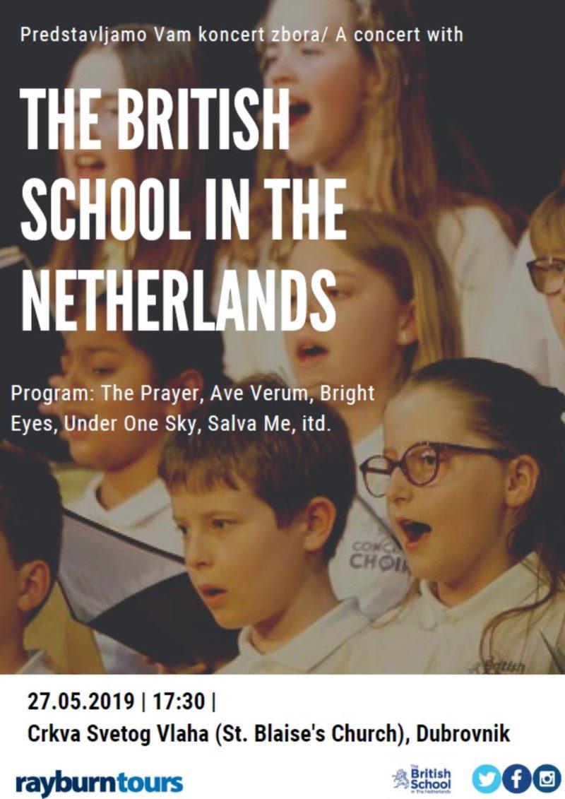 Koncert britanske škole iz Nizozemske
