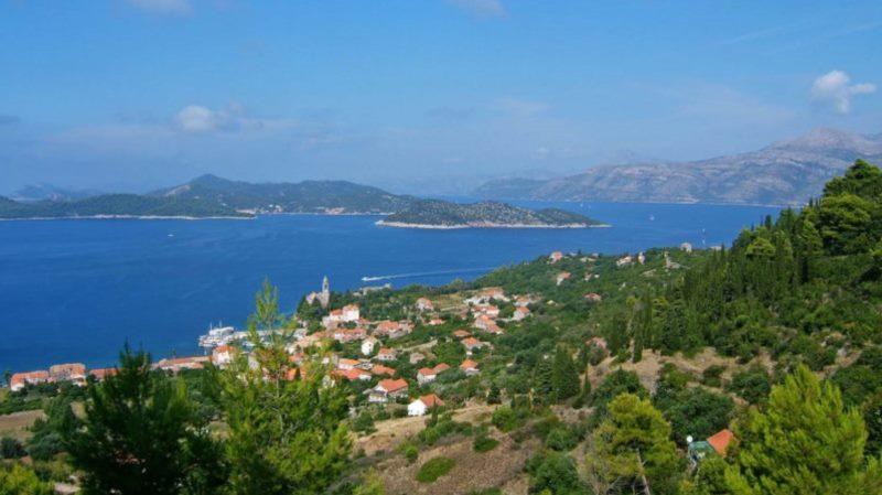 Ljeto na Elafitima, Zatonu, Orašcu, Trstenom i Brsečinama