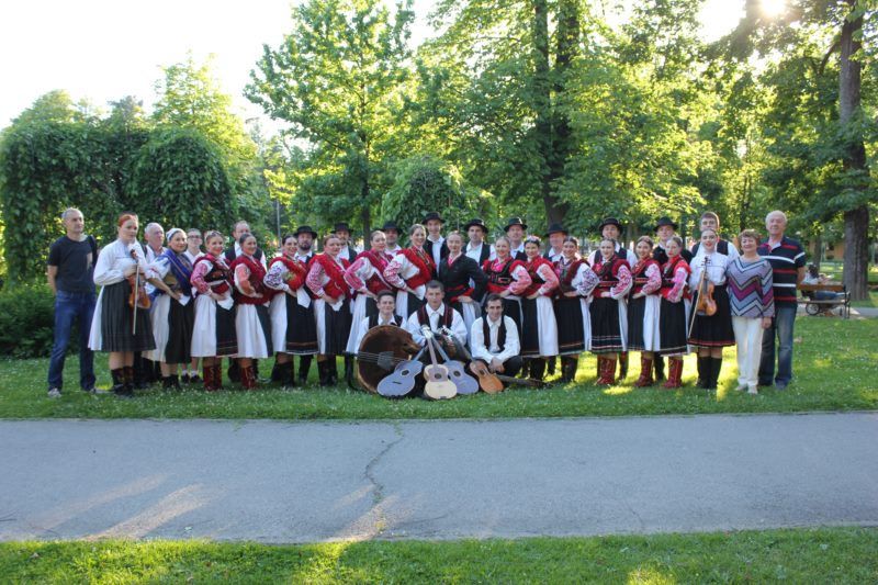 Nastup Folklornog ansambla Koprivnica