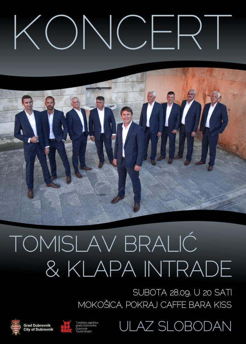 Tomislav Bralić &  Klapa Intrade  u Mokošici