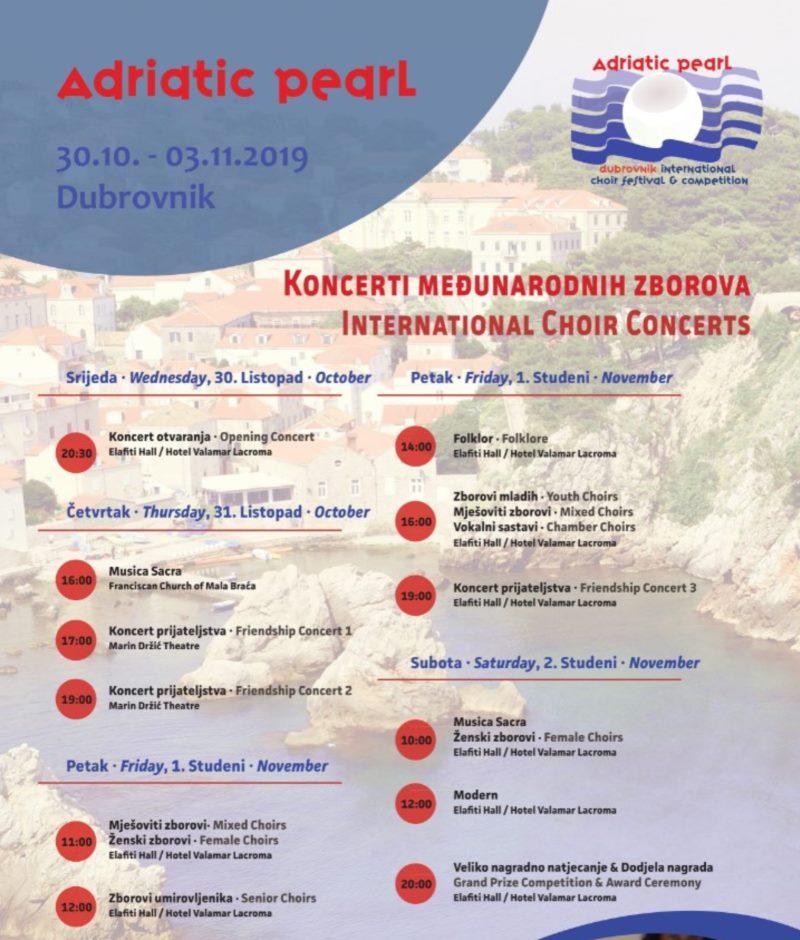 Koncerti međunarodnih zborova