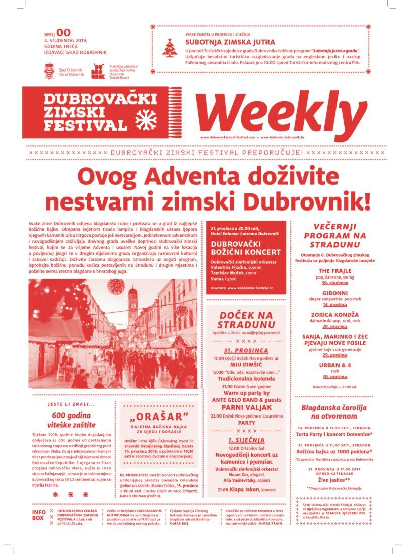 Ovog Adventa doživite  nestvarni zimski Dubrovnik!