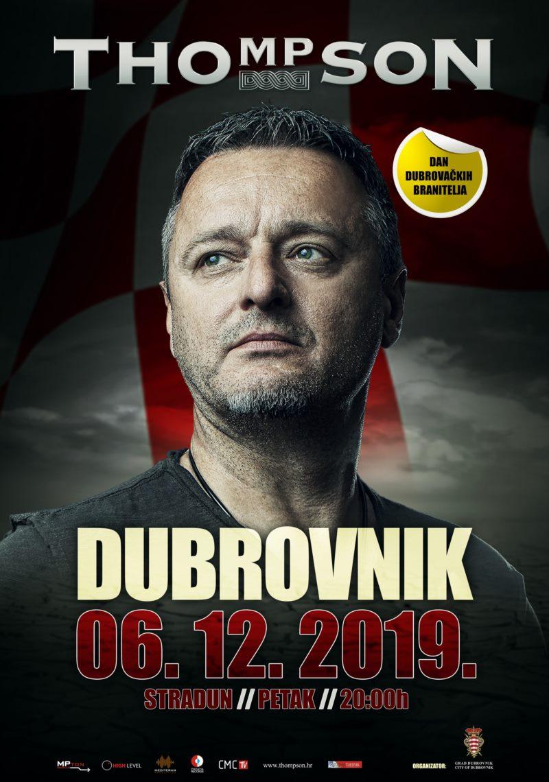 Dan dubrovačkih branitelja - Marko Perković Thompson na Stradunu