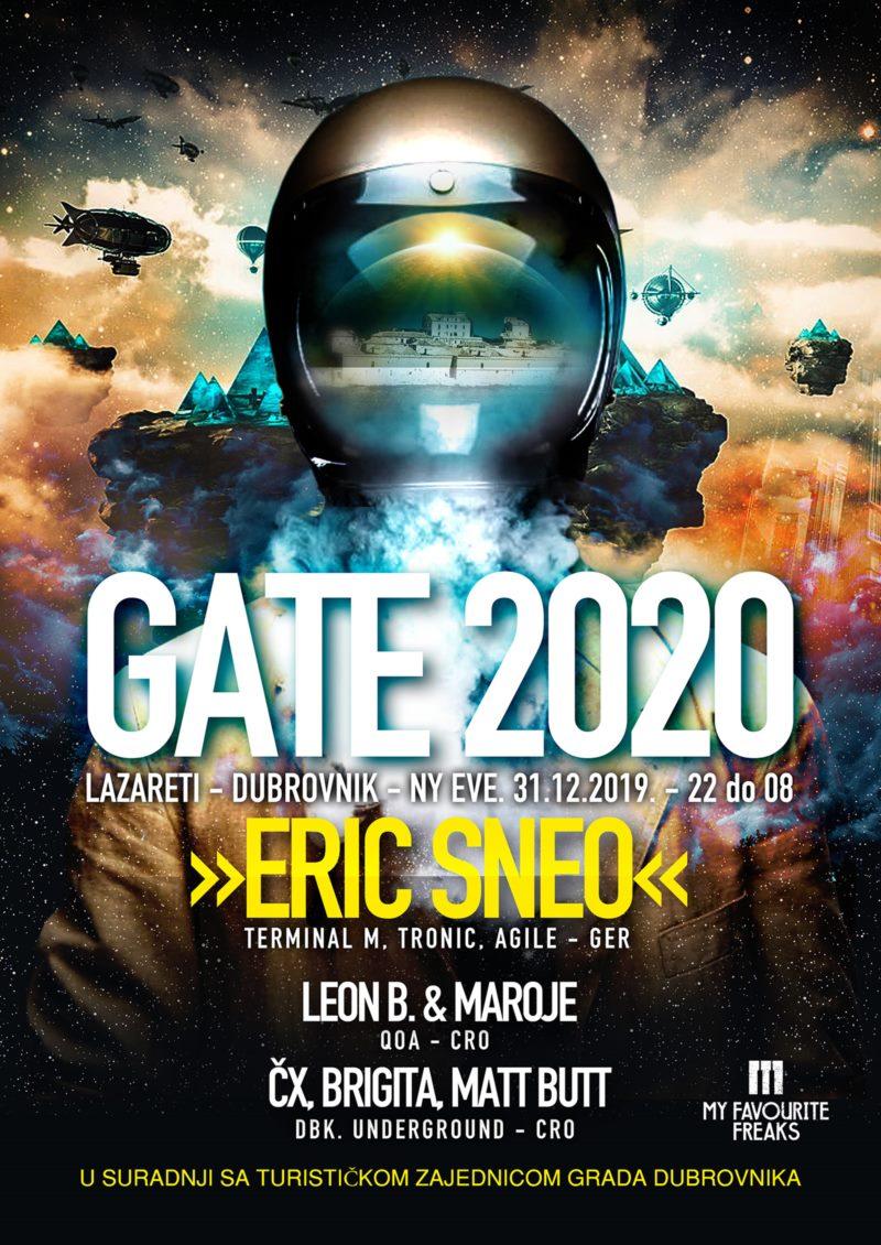 GATE 2020 - koncert elektronske glazbe Lazareti