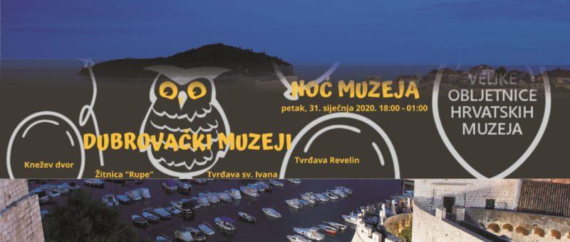 Noć muzeja u Dubrovačkim muzejima