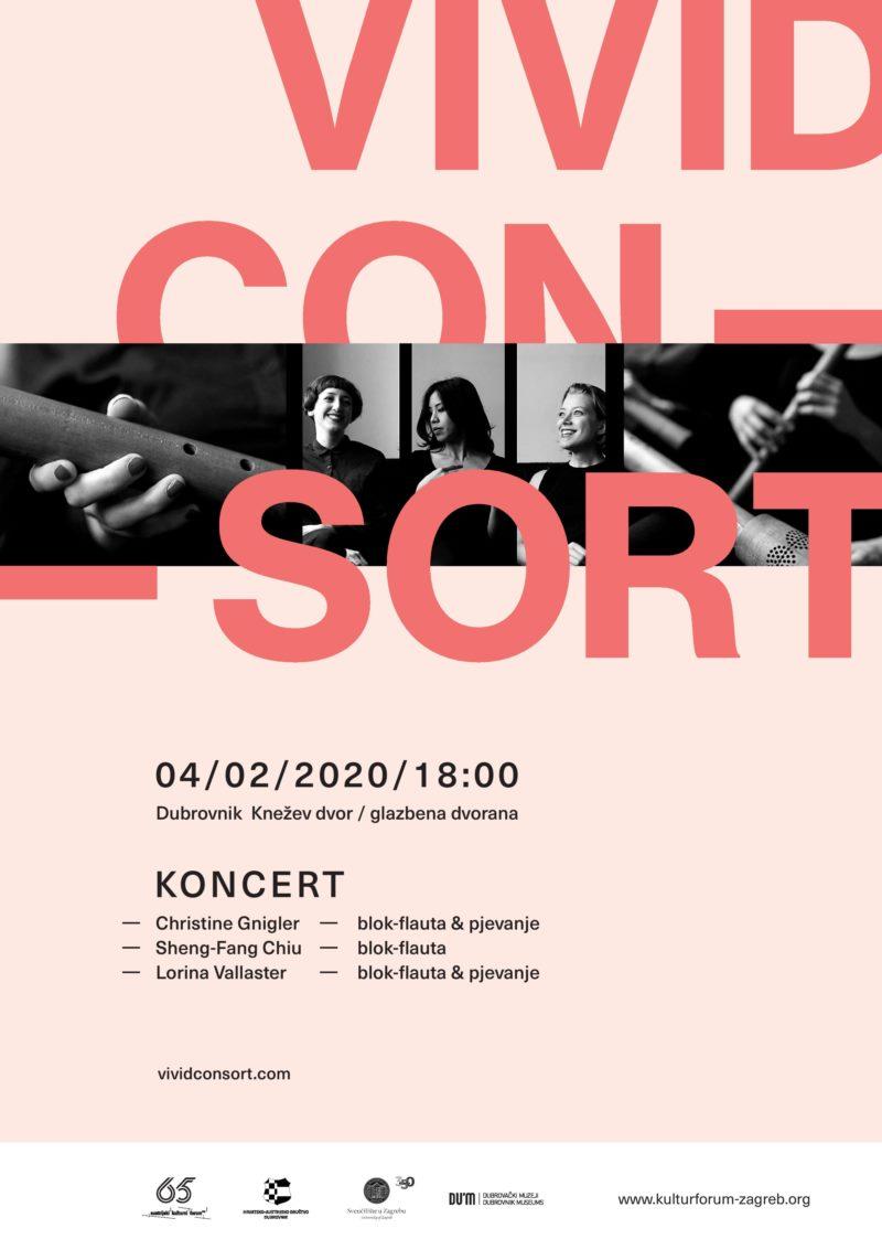 Koncert austrijskog ansambla VIVID CONSORT