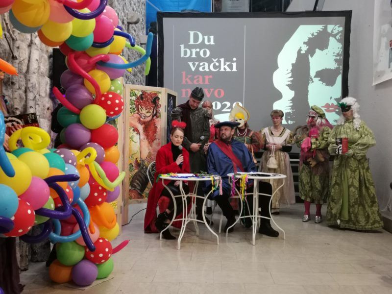 Valcerom pod maskama i gostovanjem Župskog karnevala sutra se otvara Dubrovački karnevo
