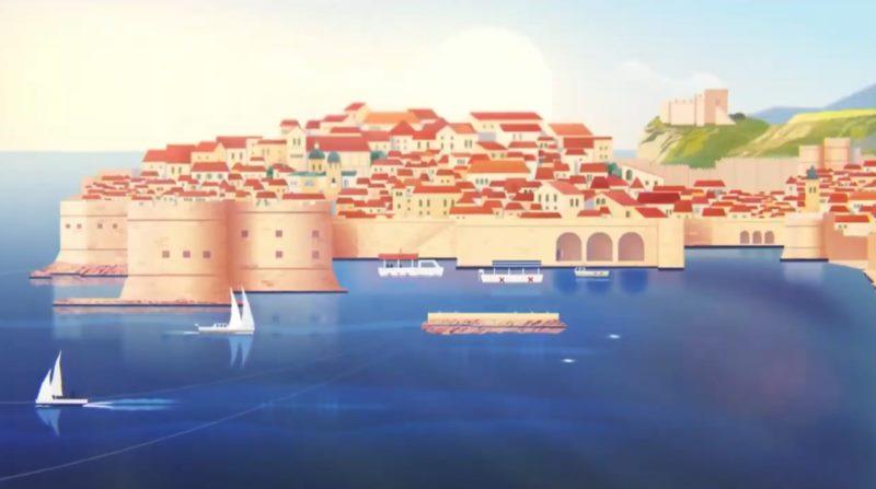 Vitez Orlando zvijezda animiranog filma: Dubrovnik – sigurno odredište