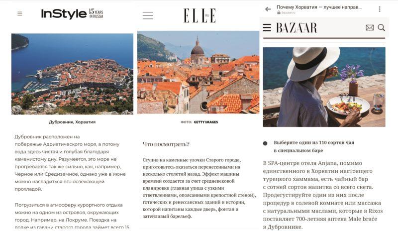 Promocija Dubrovnika u ruskim medijima