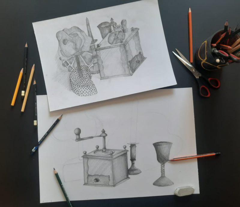 Izložba polaznika Ljetne škole crtanja i slikanja PopHeart Factory