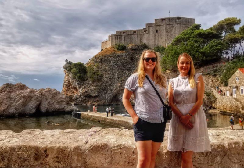 Novinarka britanskog The Evening Standard u Dubrovniku