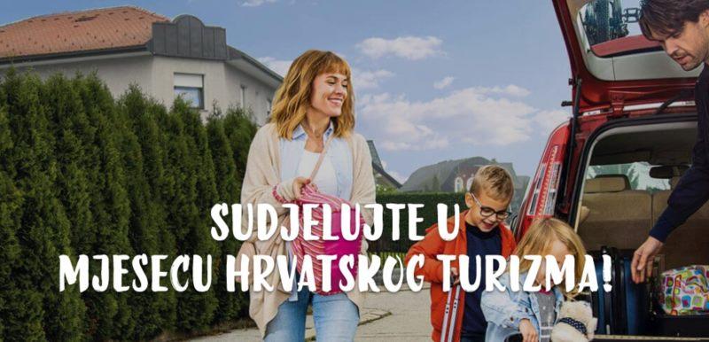 Mjesec hrvatskog turizma  - Sudjelujte u mjesecu turizma