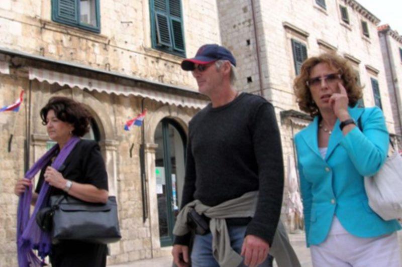 Die Prominenten in Dubrovnik