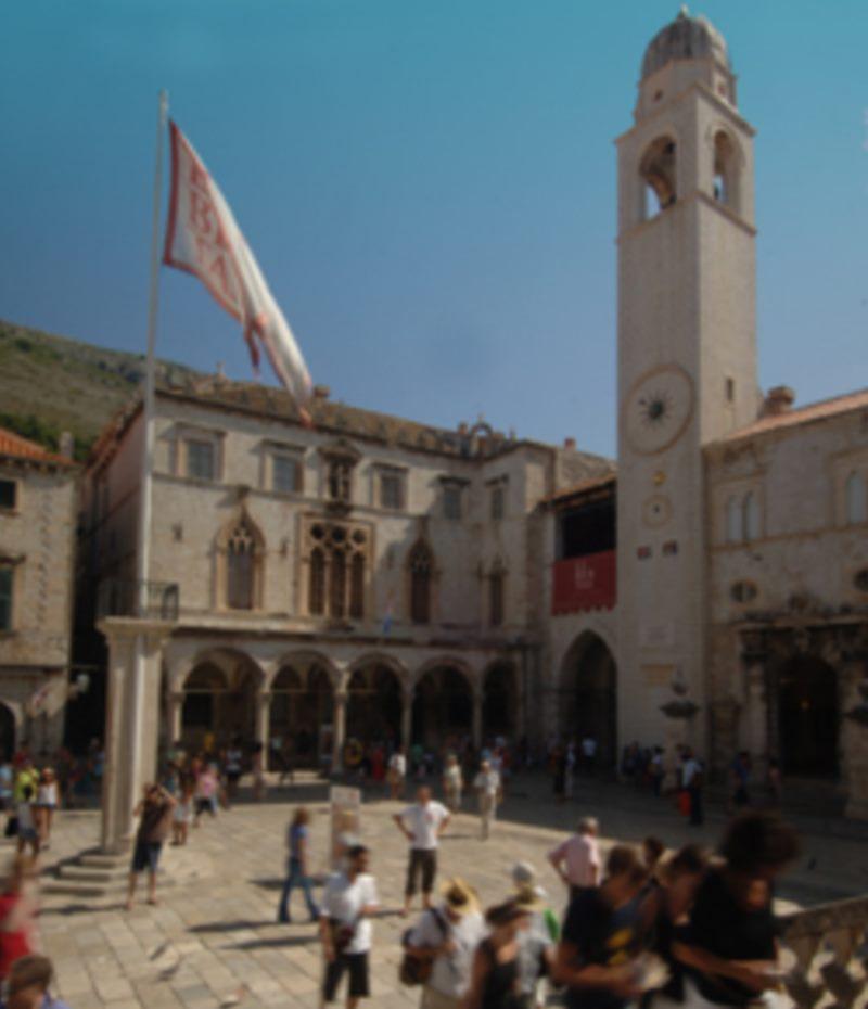 Luža und der Glockenturm