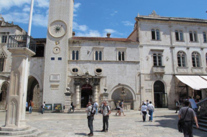 Das Gebäude der Hauptwache