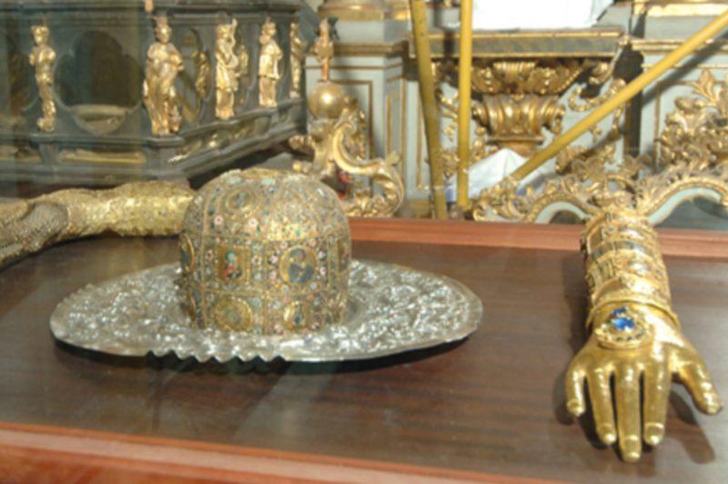 Die Schatzkammer der Kathedrale