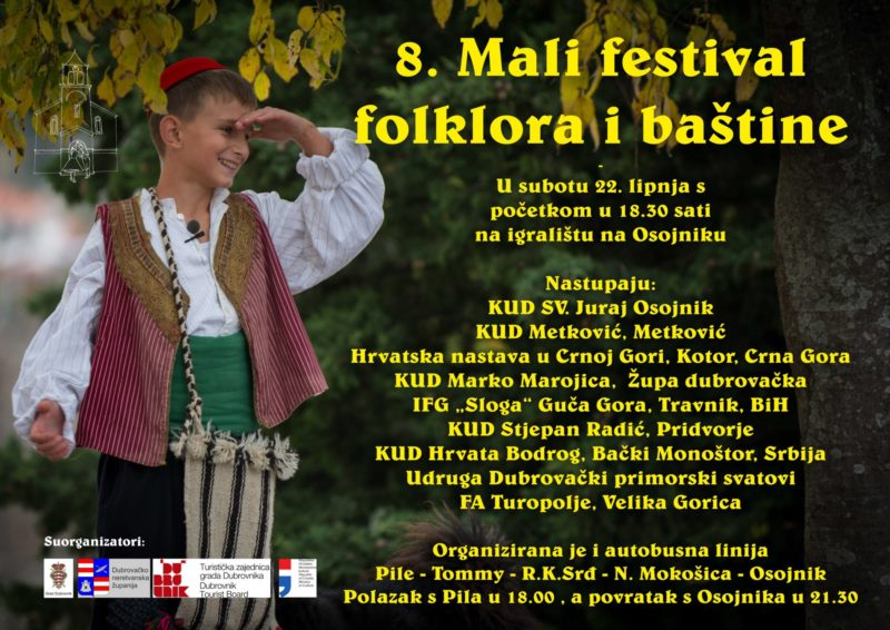 The eight small festival of folklore and heritage