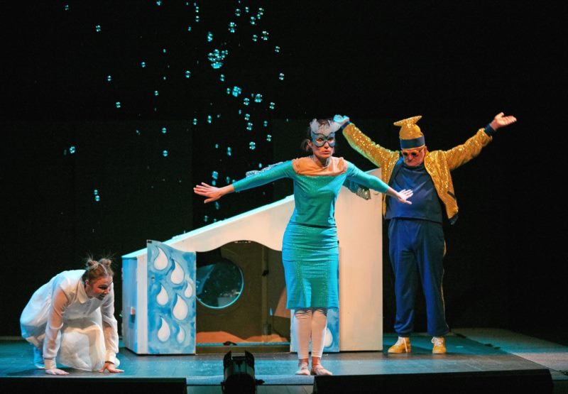 "Festival ""Ana in the City"" - Theater of blind and visually impaired people ""New Life"""